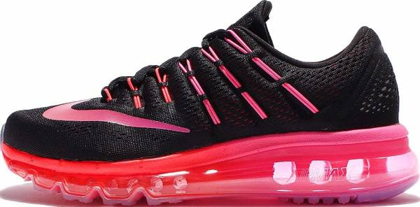 Nike Air Max 2016 woman black/multi-color-noble red