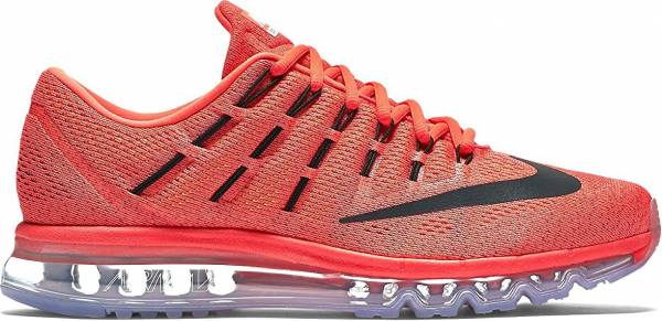 Nike Air Max 2016 men multicolore (naranja / negro / rojo (bright crimson/blck-unvrsty