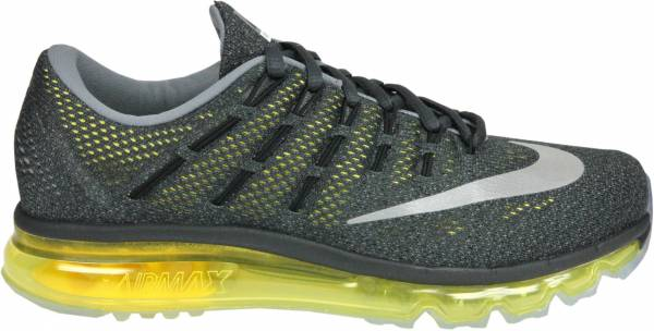 Nike Air Max 2016 men multicolore (gris / plata / amarillo (anthracite/rflct slvr-opt