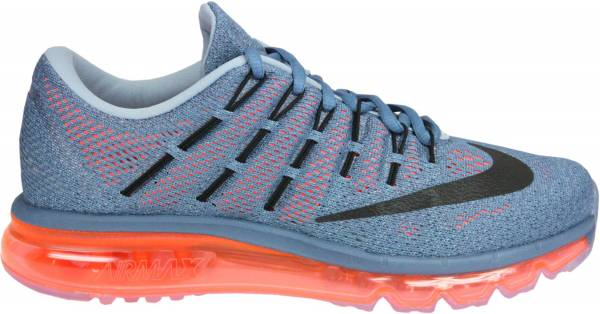 be5b8ab0e03319 Nike Air Max 2016 Bleu   Orange   Noir   Gris (Ocn Fg Blck