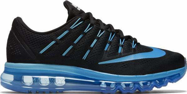 Nike Air Max 2016 woman black, deep royal blue