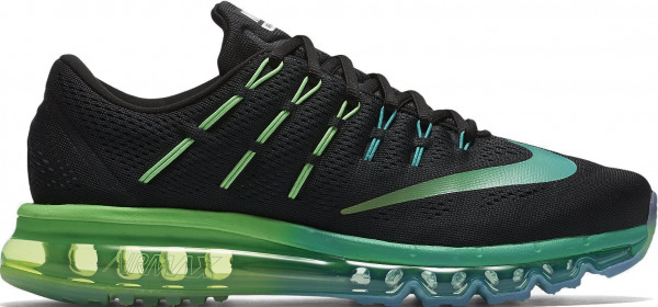 Nike Air Max 2016 woman black/multi color-midnight turquoise-clear jade-rage green