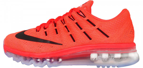 Nike Air Max 2016 woman naranja (bright crimson / blck-unvrsty rd)
