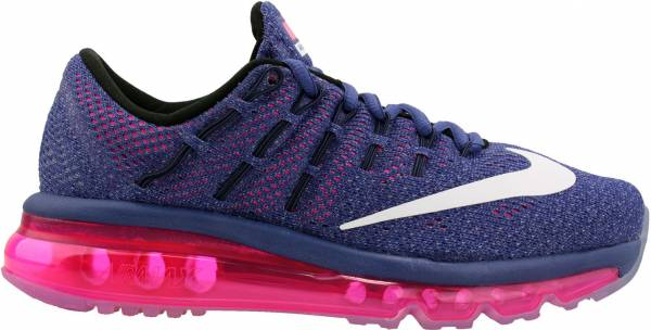 Nike Air Max 2016 woman dark purple dst/white-pink pow-blue gr