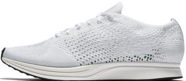 Nike Flyknit Racer - white (526628100)