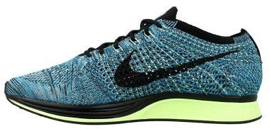 Nike Flyknit Racer - Blue (526628401)