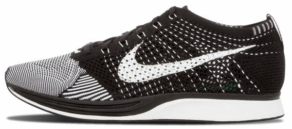 reputable site 1a72e 9f66d Nike Flyknit Racer Grey