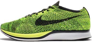 Nike Flyknit Racer - Green (526628731)