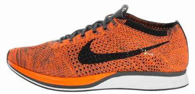 Nike Flyknit Racer - Orange (526628810)