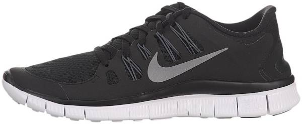 Nike Free 5.0 men black / metallic dark grey / white