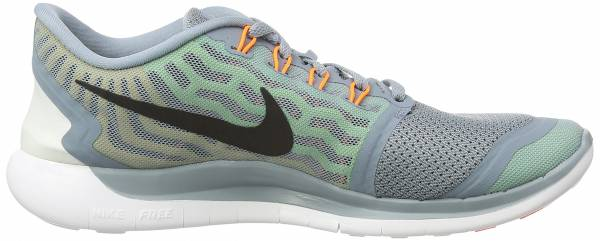 Nike Free 5.0 men dove grey, electric green, black