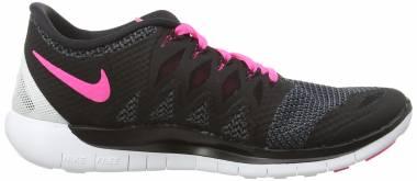 Nike Free 5.0 - Schwarz Black Pink Pow White (642199062)
