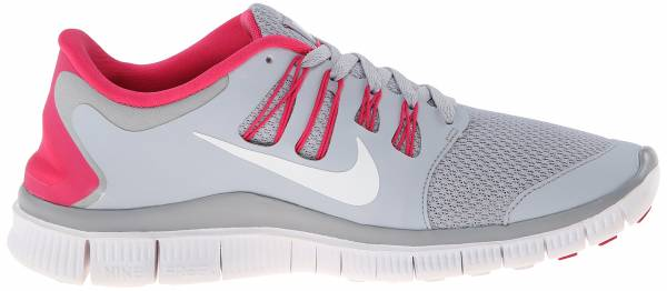 Nike Free 5.0 men wolf grey/pink force/white