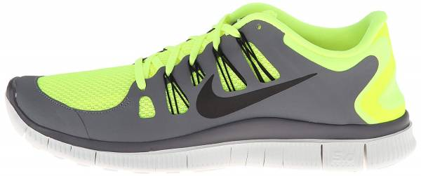 Nike Free 5.0 men volt/black/cool grey/white