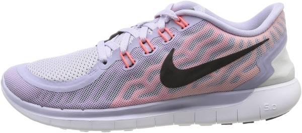 Nike Free 5.0 woman titanium/black/fchs flsh/ht lv