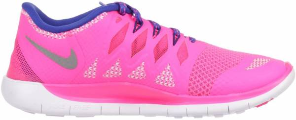 Nike Free 5.0 men hyper pink/metallic silver/royal blue