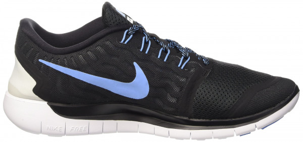 Nike Free 5.0 men multicolore (black/university blue-white)