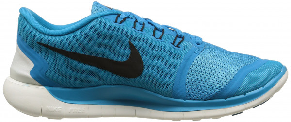 Nike Free 5.0 men blue lagoon/copa/white/black