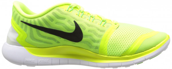 Nike Free 5.0 men multicolore (volt/black-electric green-lt lucid green)