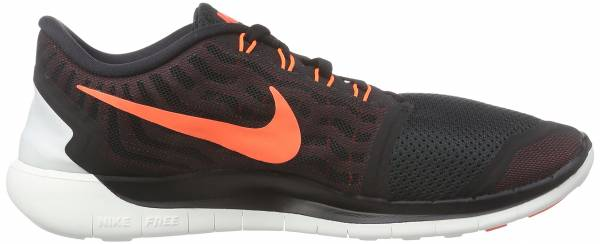 Nike Free 5.0 men black/university red/white/hyper orange