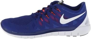 Nike Free 5.0 - Bleu (642198402)