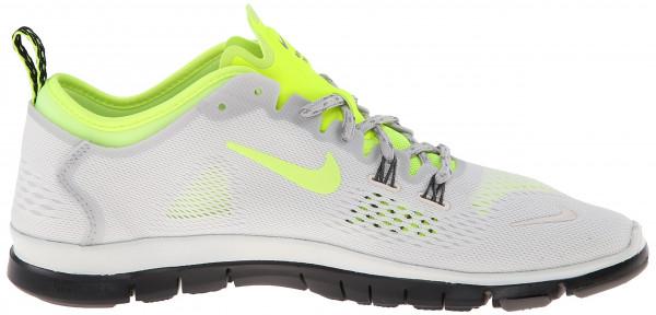 Nike Free 5.0 woman gris - grau (ivry/vlt-lght ash-lght ash gry 103)