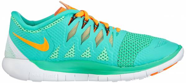 Nike Free 5.0 woman menta/bright citrus-green glow