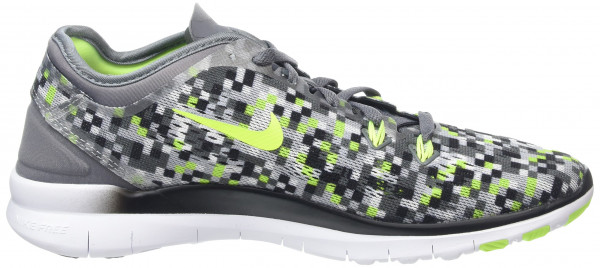 Nike Free 5.0 woman cool grey/volt/black