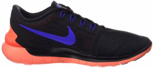 Nike Free 5.0 men multicolore (black/rcr bl-ttl crmsn-drk gry)