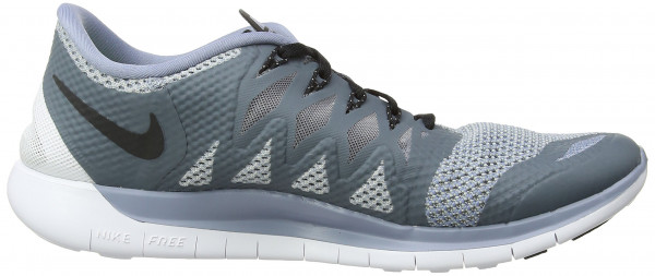 Nike Free 5.0 men cool blue/black/wolf grey