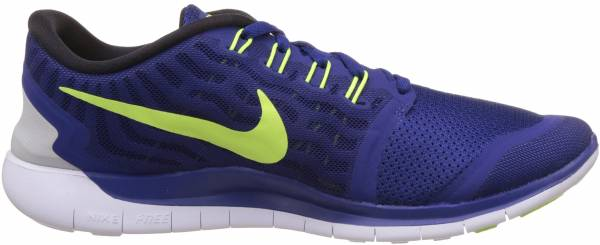 Nike Free 5.0 men deep royal blue/racer blue/white