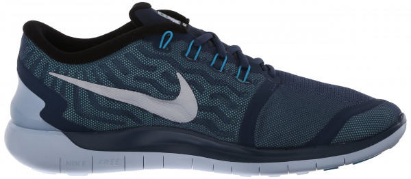 Nike Free 5.0 men squadron blue/blue lagoon/green glow/reflect silver