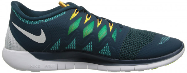 Nike Free 5.0 men night shade/white/trb green/vlt