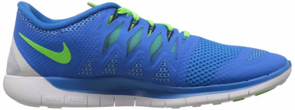 Nike Free 5.0 men blau/hellgru00fcn