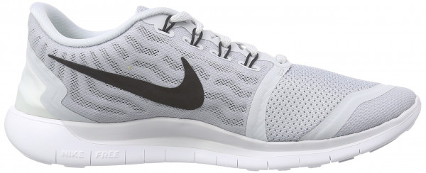 Nike Free 5.0 men pure platinum/wolf grey/cool grey/black