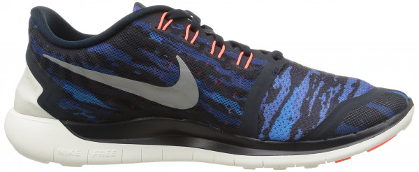 Nike Free 5.0 men dark obsidian/white-hot lava