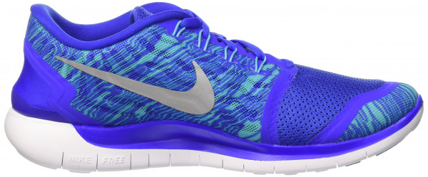 Nike Free 5.0 men rcr bl/rflct slvr/gmm bl/white