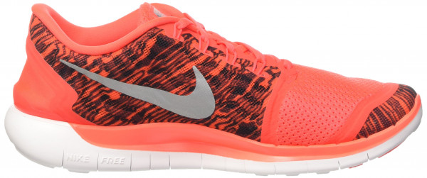 Nike Free 5.0 men bright crimson/black-white