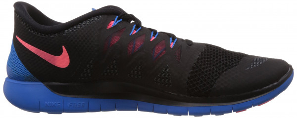 Nike Free 5.0 men black/blue