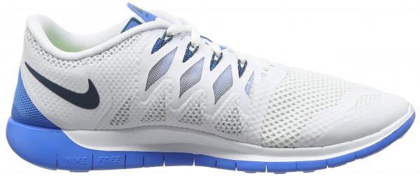 Nike Free 5.0 men white/spc blue/pht bl/pr pltnm