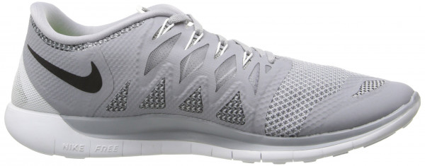 Nike Free 5.0 men wolf grey/black/dark grey/metallic silver