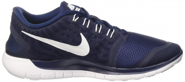 Nike Free 5.0 men blue (404 mid navy/white-mid nvy)