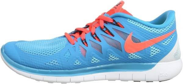 Nike Free 5.0 men blue lagoon/brght crmsn/clrwtr