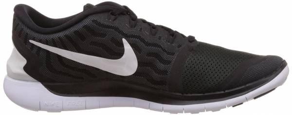 Nike Free 5.0 men black/dark grey/cool grey/white