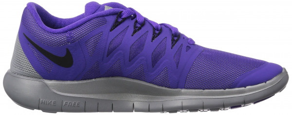 Nike Free 5.0 woman violet (hyper grape/black-reflect silver-wolf grey 500)