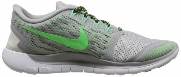 Nike Free 5.0 woman grey, green white