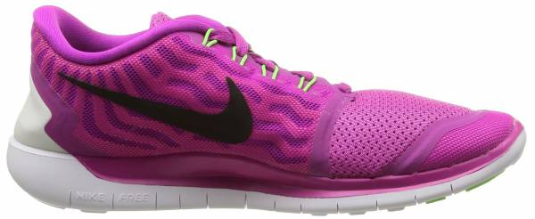 Nike Free 5.0 woman fuchsia flash/pink pow/hot lava/black
