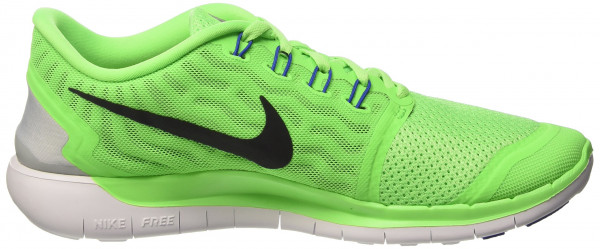 Nike Free 5.0 woman multicolore (voltage green/blk-white-rcr bl)