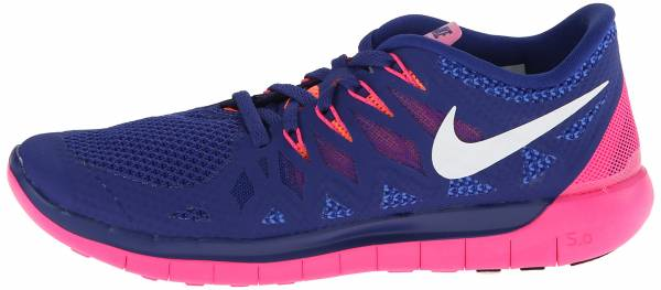 Nike Free 5.0 woman dp ryl bl/white/hypr pnk/brght