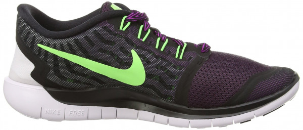 Nike Free 5.0 woman black/flash lime/fuchsia flash